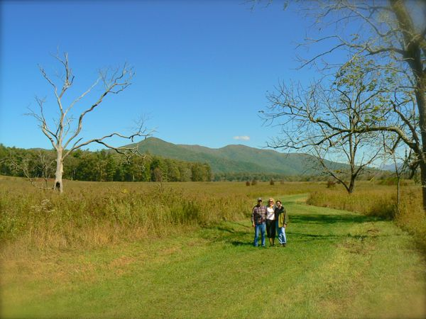 fall in cades cove