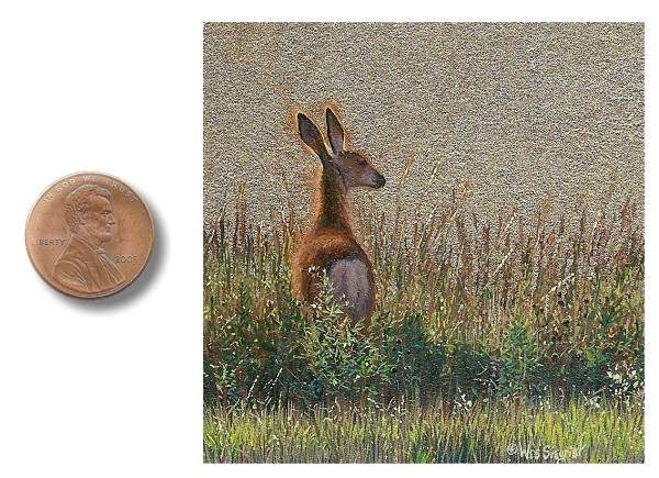 mule deer painting by Wes_Siegrist