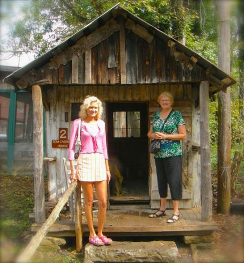 rachelle siegrist by Tom Cassies cabin