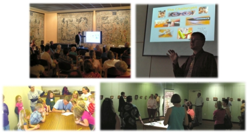 Presentations, lectures and workshops at venues on the Siegrists' Exquisite Miniatures Tour