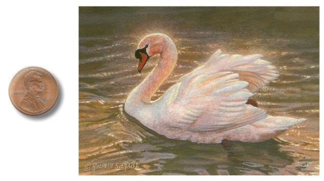 Swan Painting Autumn_Serenity_by_Rachelle_Siegrist1
