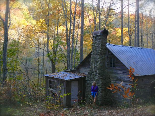avent artist cabin in fall