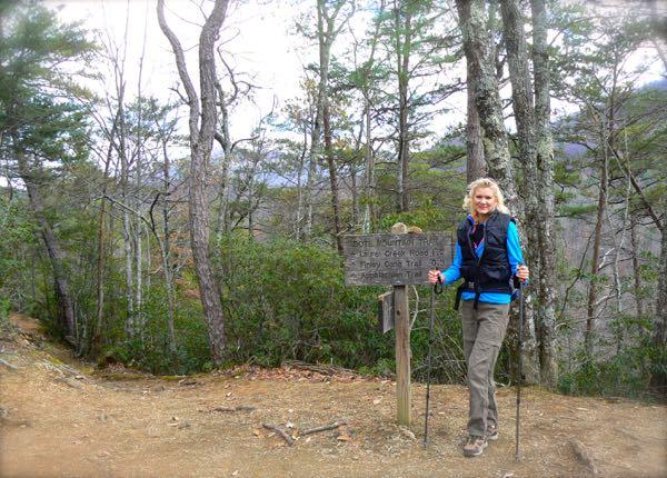rachelle siegrist hiking bote mountain trail