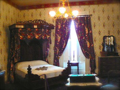 bedroom in lanier mansion