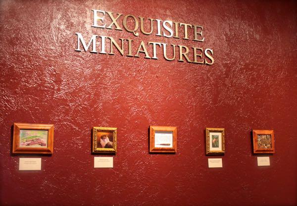 Exquisite Miniatures at Steamboat art museum 3