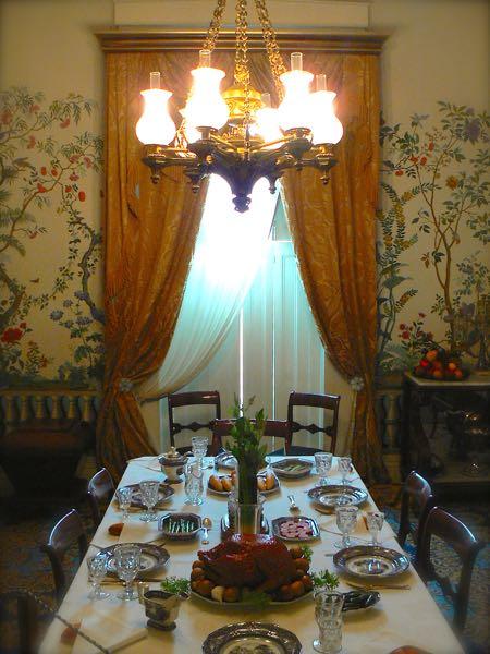 lanier mansion dining room