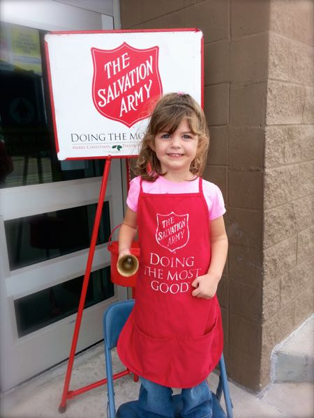 The Salvation Army helper