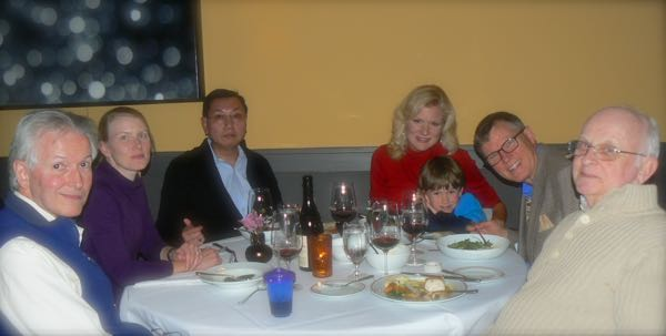 dinner at the FIG in Charleston Valentines Day