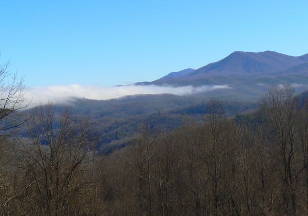 maloney point overlook in the great smoky mountains national park