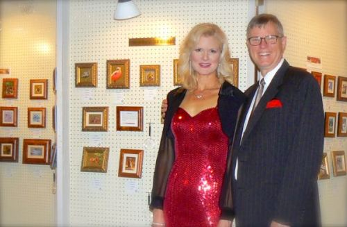 wes and Rachelle siegrist at SEWE gala opening 2015