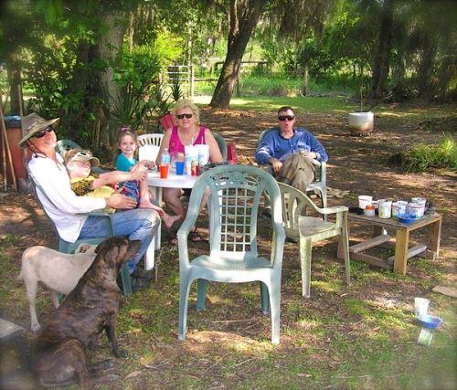 davis family picnic