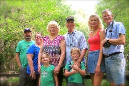 siegrist an ddavis family at highlands hammock state park
