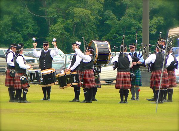 band at smoky mountain scottish festival and games