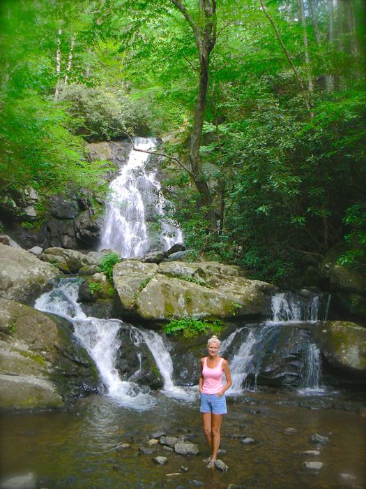 rachelle siegrist and spruce flats falls 2015 may