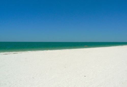 swimming at Lovers Key state park