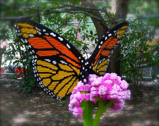 sean kenney's lego butterfly