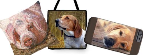 beagle dog pillow, beagle dog tote bag, beagle dog phone case, golden retriever pillow, golden retriever tote bag, golden retriever phone case, pig pillow, pig tote bag, pig phone case