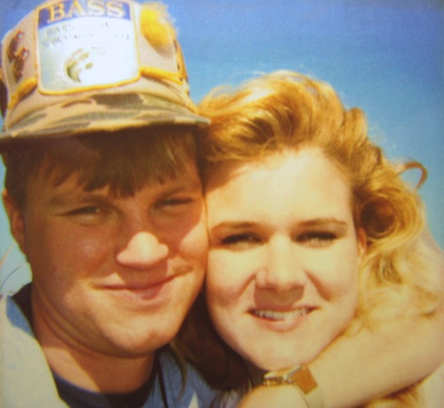 Wes and Rachelle Siegrist back in September 1989