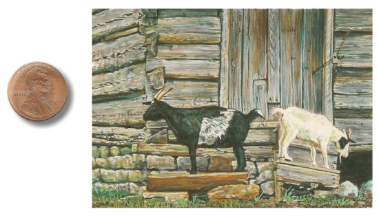 goat painting by_Wes_Siegrist1