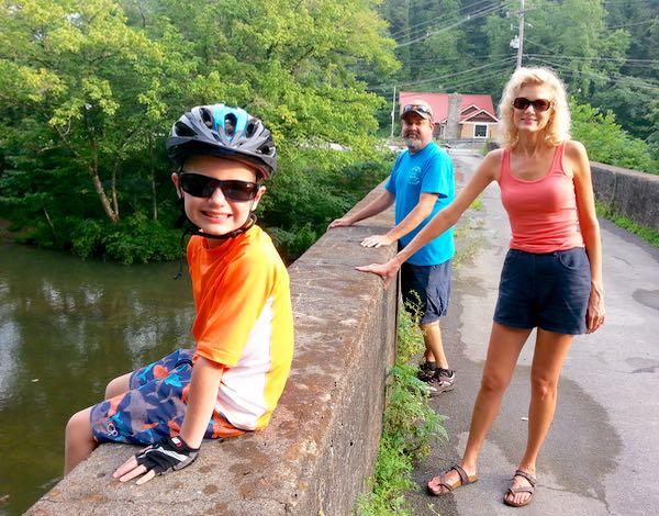 rachelle siegrist riding bikes in townsend 7-15 - 1