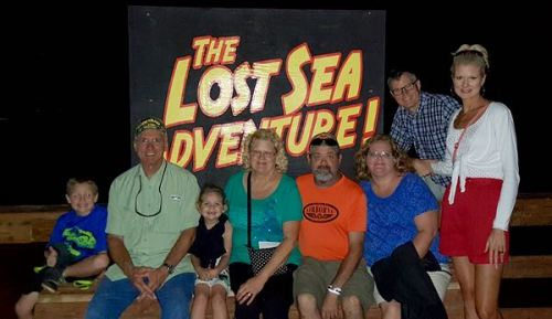 wes and rachell siegrist at the lost sea - 1
