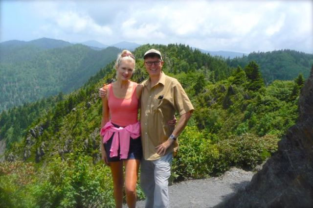 wes and rachelle siegrist on Charlie's Bunion