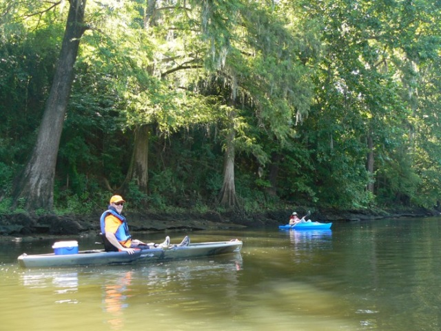 David Lanier and Wes Siegrist on Flint River