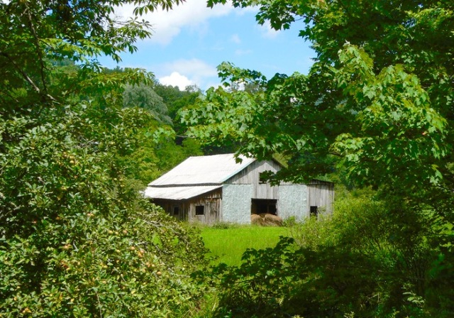old barn along the Virginia Creeper Trail 2 - 1