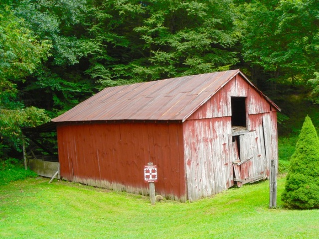 old barn along the Virginia Creeper Trail 3 - 1