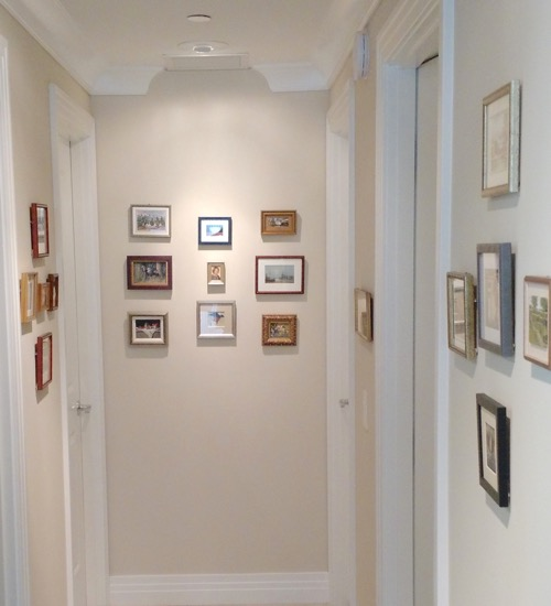 Siegrist Miniature Paintings on Display