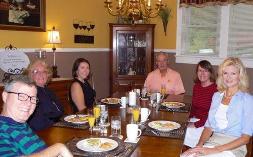 breakfast at the Vintage Inn in yadkinville NC - 1