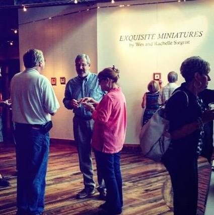 Exquisite Miniatures tour at the yadkin cultural art center
