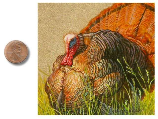 turkey painting by Wes and Rachelle Siegrist