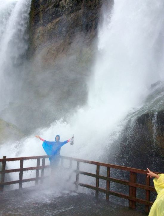 rachelle siegrist on the hurricane deck by niagara falls - 1