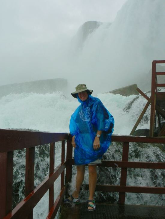 wes siegrist at cave of the winds in niagra falls - 1