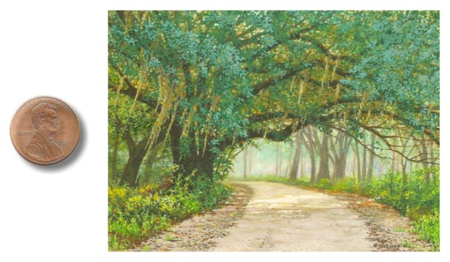 plantation oak lane painting_by_Wes_Siegrist