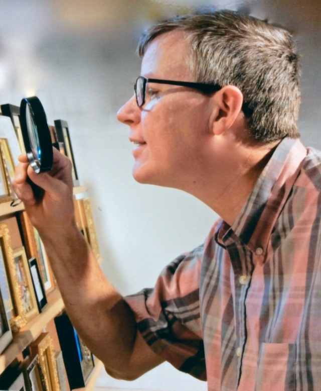 wes siegrist judging the miniature art society of florida show