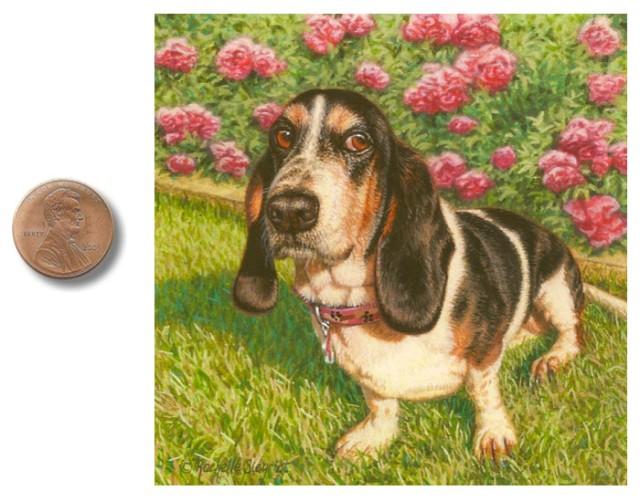 basset hound dog painting by rachelle siegrist.jpg