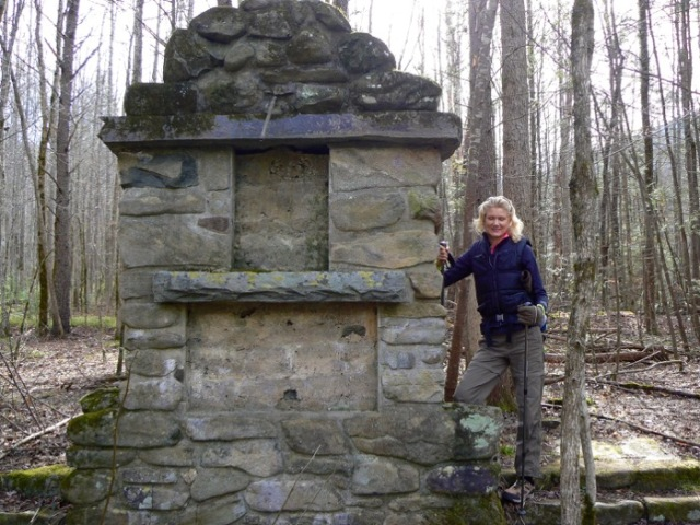 CCC clock tower at old sugarlands trail smokies - 1.jpg