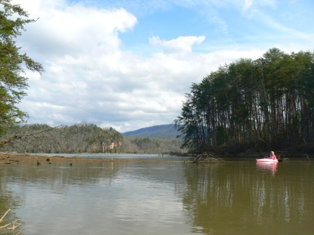 Kayaking tennessee river with Rachelle siegrist - 1 (1)