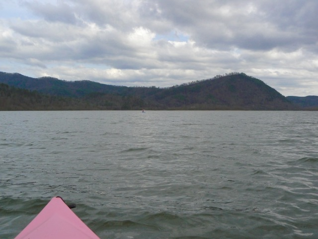 Kayaking tennessee river with rachelle siegrist - 1