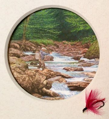Fly fishing fisherman painting by rachelle siegrist.jpg