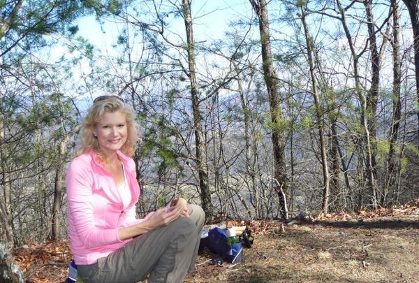 rachelle siegrist on Rich mountain trail smokies - 1.jpg