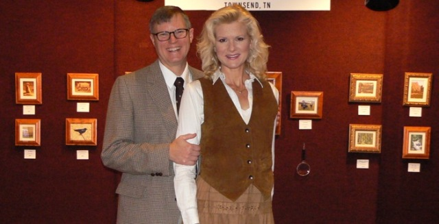 Wes and Rachelle Siegrist at NatureWorks Art Show.jpg