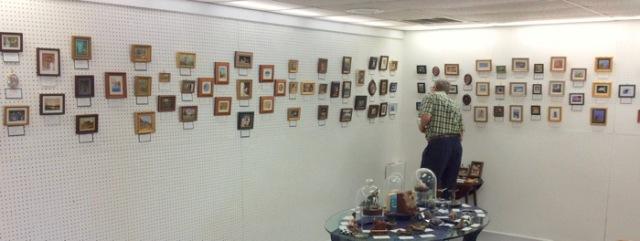 rachelle siegrist judging seaside international miniature art show.jpg