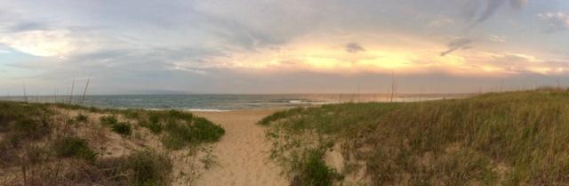 sunrise on nags head beach by days inn.jpg