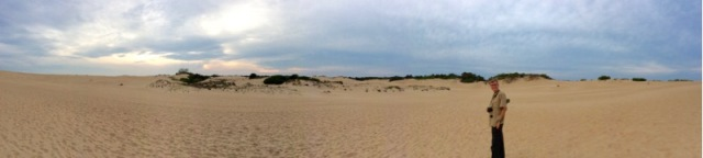 sunset at jockey's ridge NC