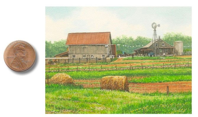 amish landscape painting A_Tennessee_Farmstead_by_Wes_Siegrist1.jpg