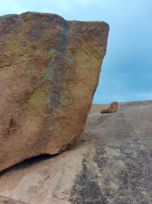 big boulders on enchanted rock