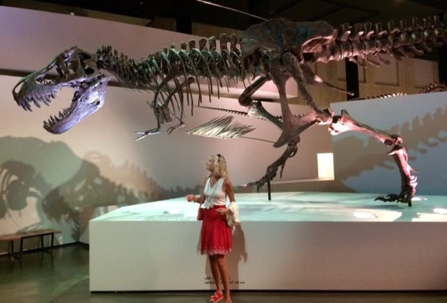 rachelle siegrist at houston museum of natural science
